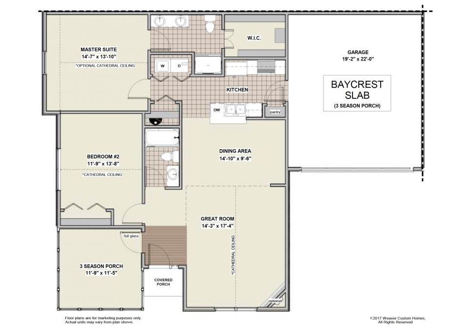 Baycrest Slab - 3 Season Porch