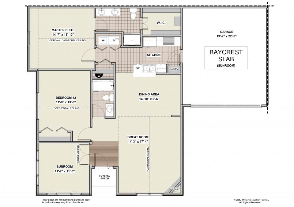 Baycrest Slab - Sunroom