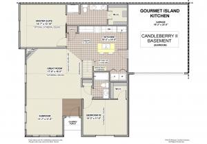 Candleberry II Floorplan with Sunroom