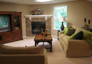 Weaver Heritage - Finished basement