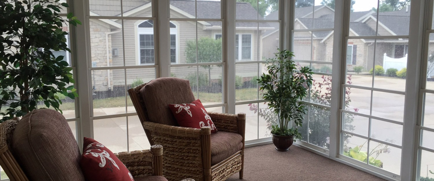 Weaver Heritage Screened Porch